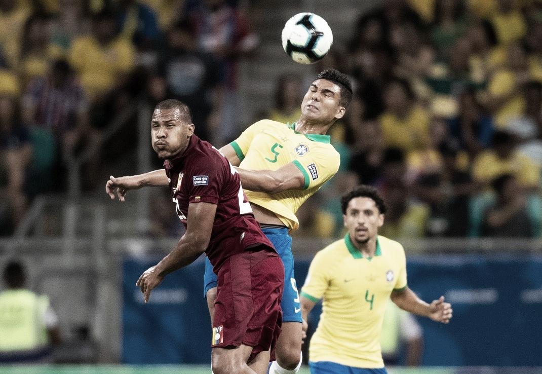 Brasil volta a jogar mal, empata com Venezuela e ouve vaias na Fonte Nova