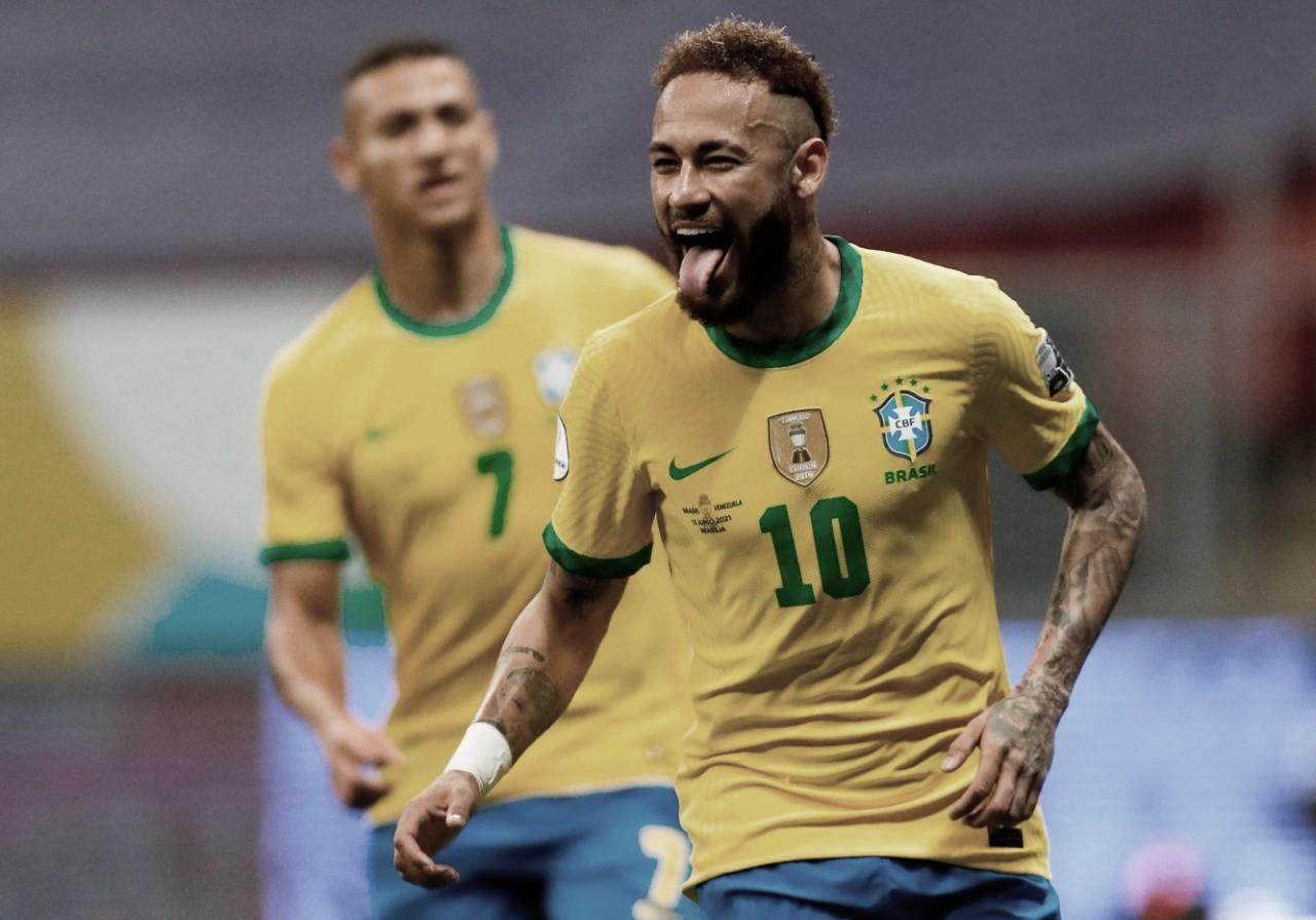 Brasil derrotó a Venezuela en la inauguración de la Copa América 2021