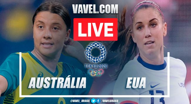 Gols e melhores momentos Austrália x Estados Unidos pelas Olimpíadas de Tóquio (3-4)
