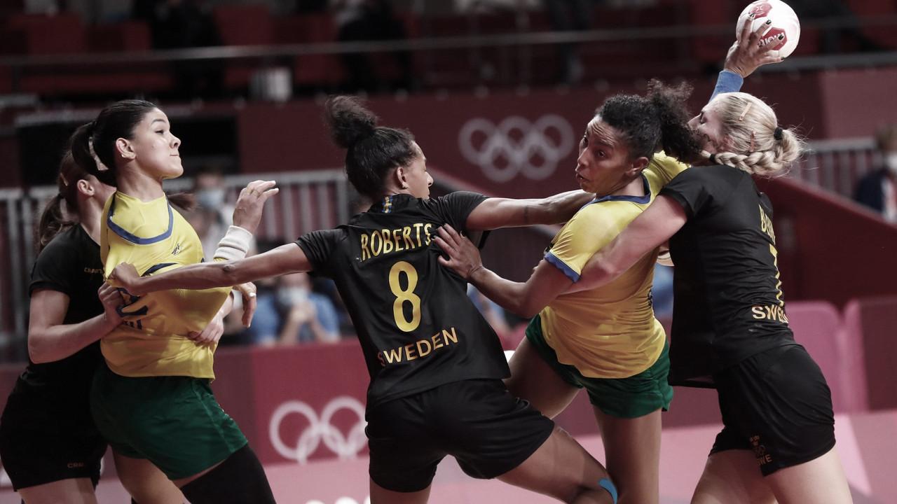 Gols e Melhores Momentos de França x Brasil no torneio de handebol das Olimpíadas de Tóquio 2020 (29-22)
