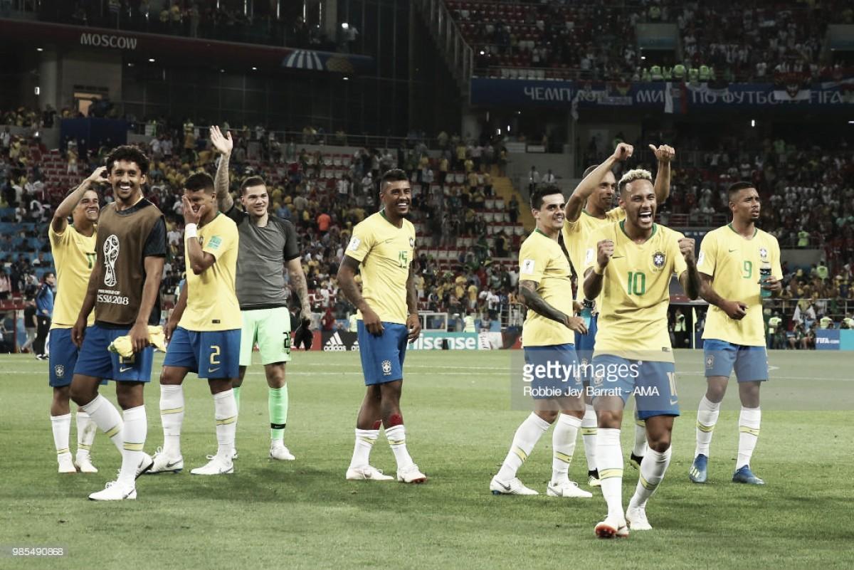 Grupo E: Brasil e Suíça avançam para os oitavos