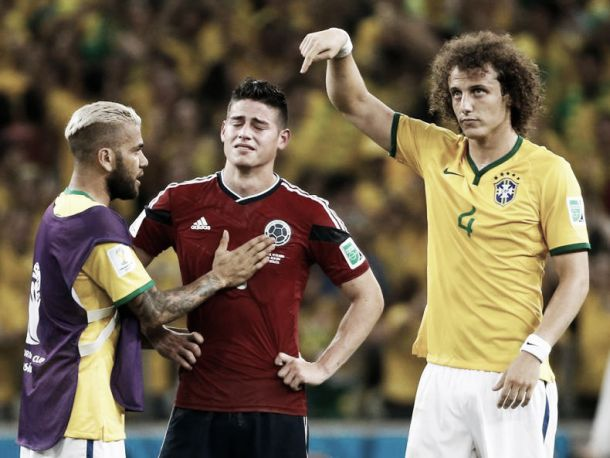 Brasil segue para as meias depois de derrotar Colômbia