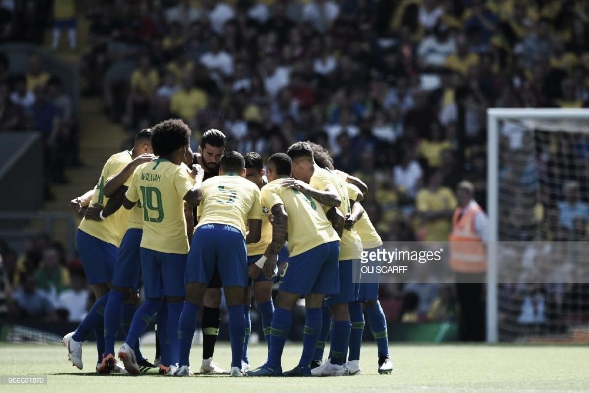 Rússia 2018: Brasil