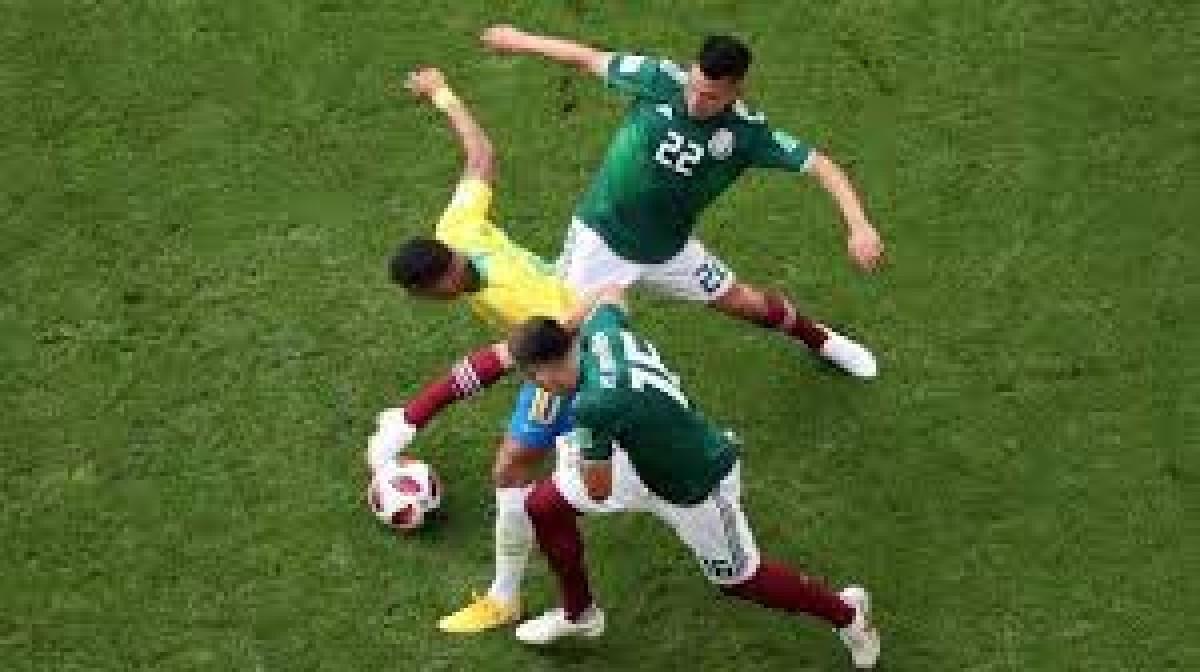 Brasil Unggul Kelas dari Meksiko