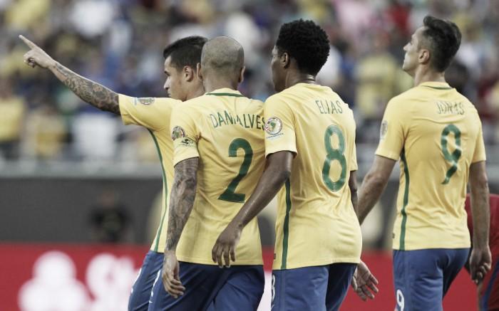 Brasil e Peru decidem seu futuro na Copa América Centenário