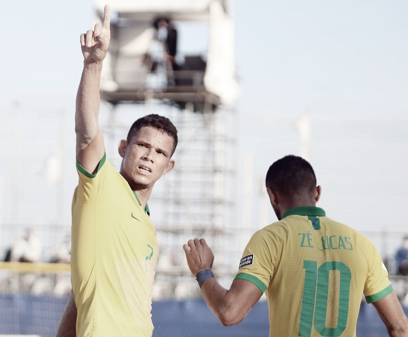 Beach soccer: Gols e Melhores momentos de Brasil x Belarus pela Copa do Mundo (5-0)