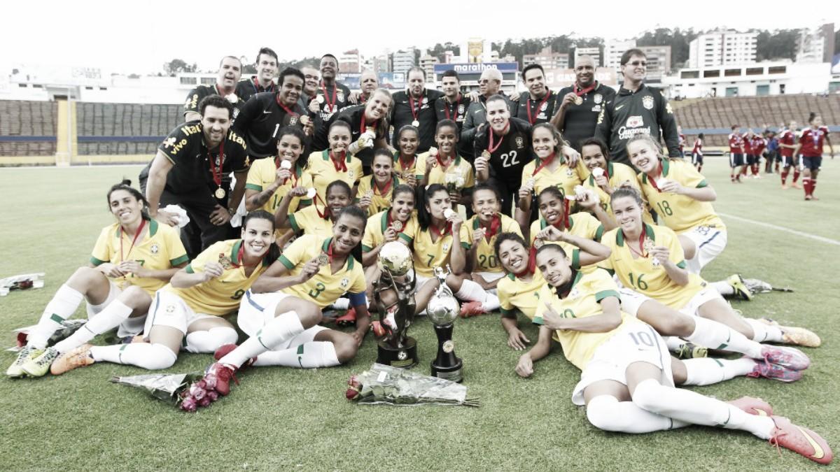 Antônia é chamada para disputa da Copa América