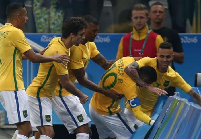 Rio 2016, Neymar gol e rissa ma il Brasile va in semifinale