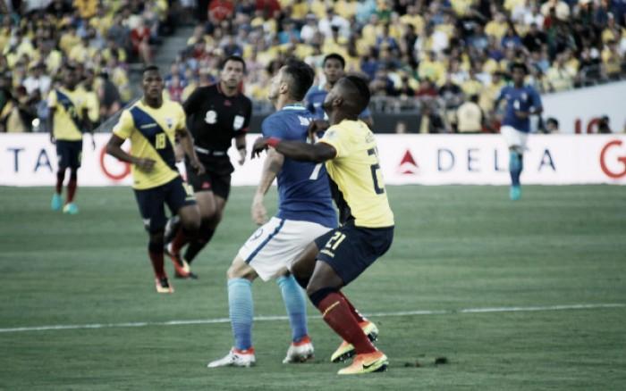 Brasil cria pouco e estreia na Copa América Centenário com empate diante do Equador