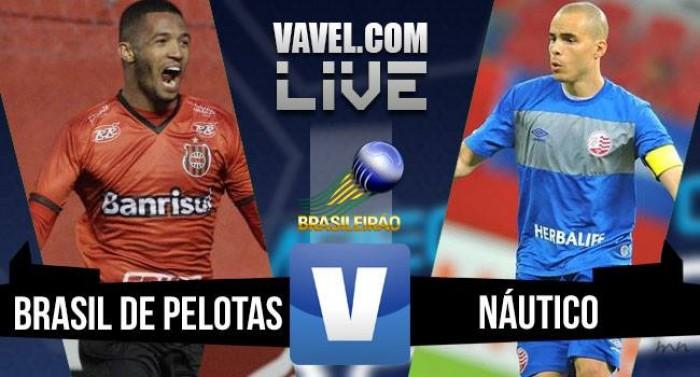Resultado Brasil de Pelotas x Náutico pela Série B 2016 (0-0)