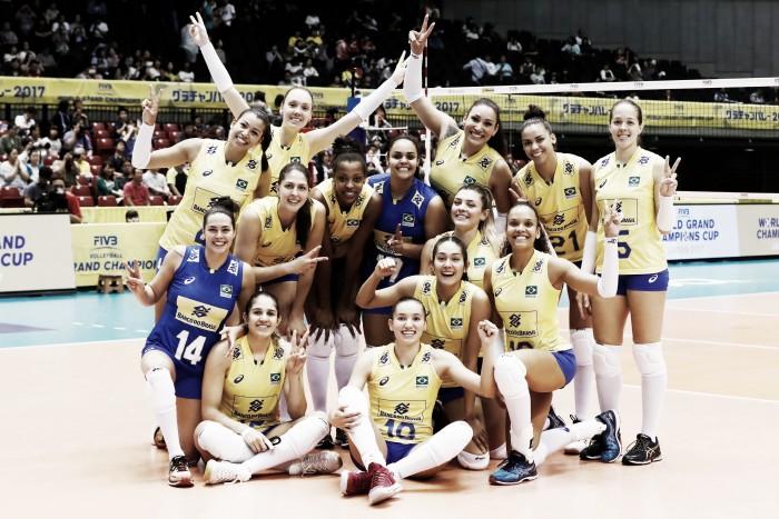 Com grande atuação de Tandara, Brasil bate Rússia em estreia na Copa dos Campeões