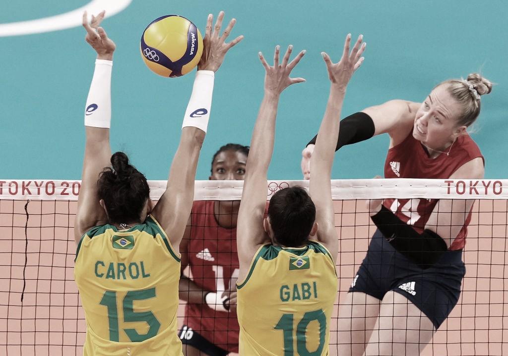 Estados Unidos superam Brasil na final do vôlei feminino e conquistam inédita medalha de ouro em Tokyo 2020