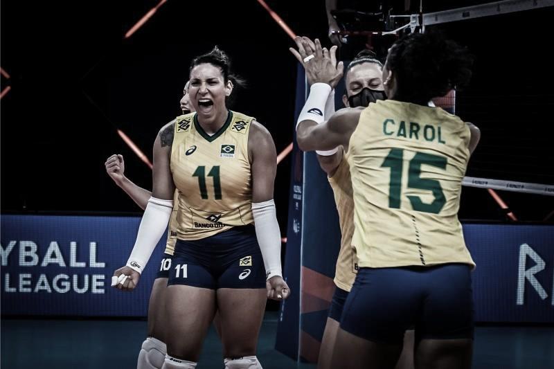 Brasil vence Itália e fecha segunda semana da Liga das Nações em terceiro