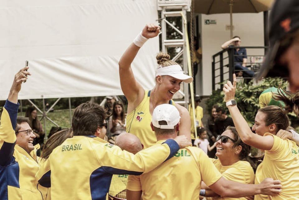 Fed Cup: Brasil domina Paraguai e se qualifica para playoffs do Grupo Mundo II