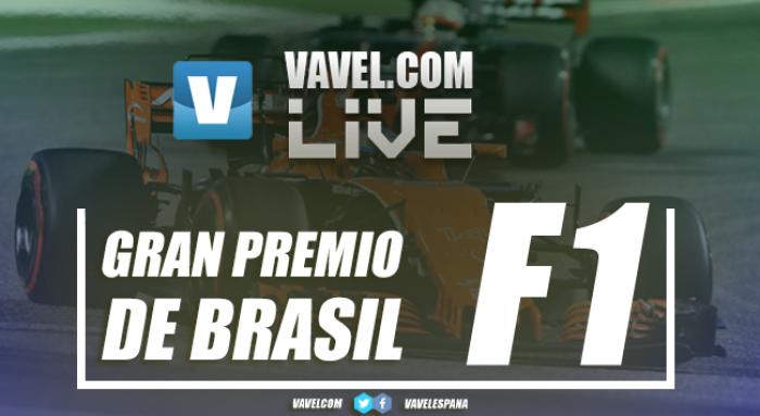 Doble podio de Ferrari en Brasil con Sebastian Vettel a la cabeza