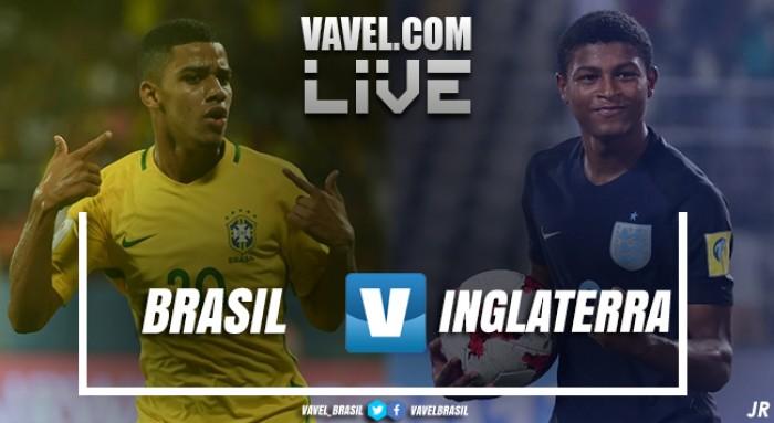 Resultado Brasil x Inglaterra pela semifinal da Copa do Mundo Sub-17 (1-3)
