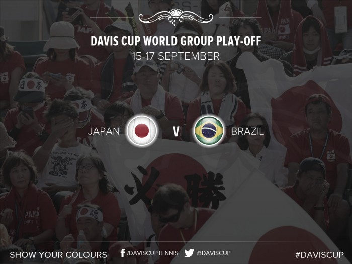 Brasil x Japão: sem Bellucci, brasileiros buscam vaga no Grupo Mundial da Davis