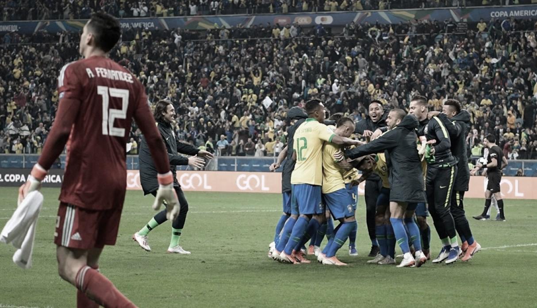 Brasil se quedó con la lotería de los penaltis