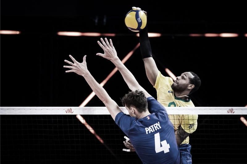 Brasil vai mal contra a França e perde a primeira na Liga das Nações