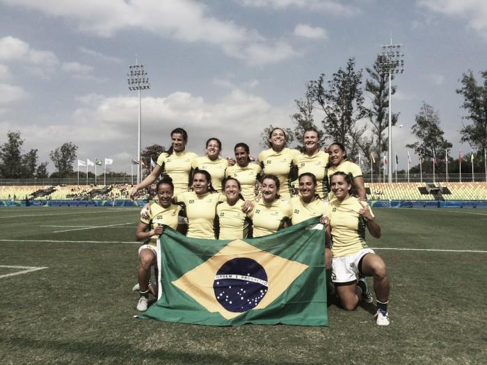 Brasil fica em nono e conquista vaga para Série Mundial de Sevens Feminina