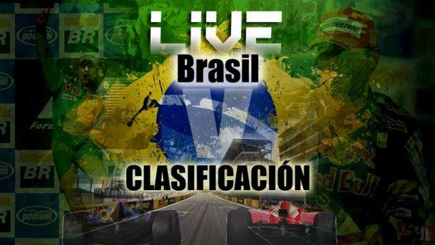 Resultado Clasificación del GP de Brasil de Formula 1 2013
