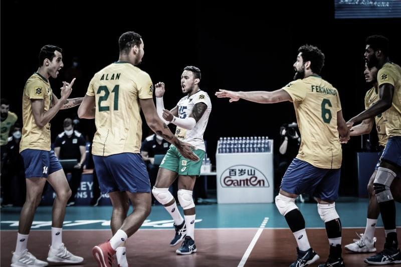 Mais uma! Brasil atropela Bulgária e vence a quinta seguida na Liga das Nações