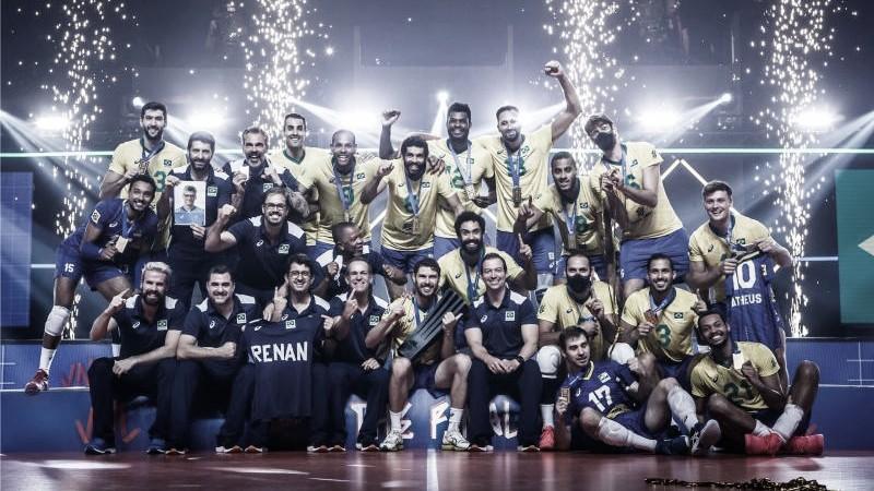 Brasil derrota Polônia na decisão e conquista Liga das Nações masculina