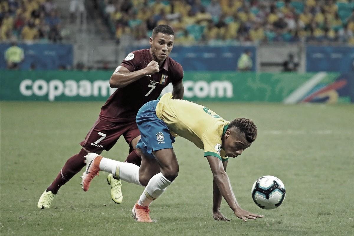Venezuela saca el empate ante un inoperante Brasil