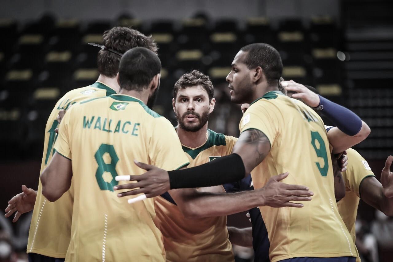 Brasil derrota Tunísia, e time masculino de vôlei estreia nas Olimpíadas de Tóquio com vitória