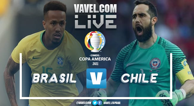 Resumen Chile-Brasil en la Copa América 2021 (0-1)