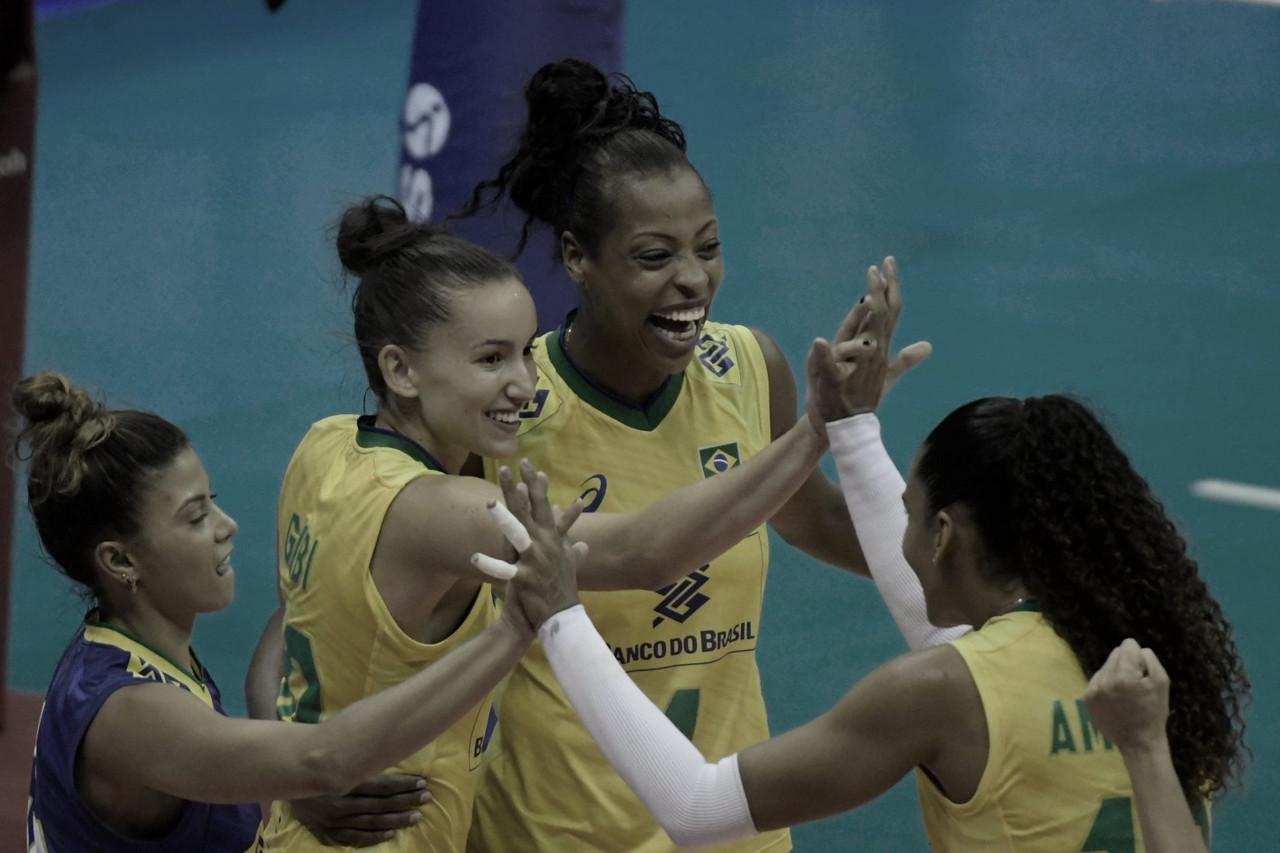 Brasil atropela Rússia e encerra primeira semana da Liga das Nações