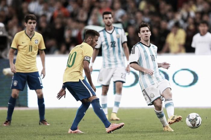 Brasil recebe Argentina buscando se firmar na liderança das Eliminatórias da Copa