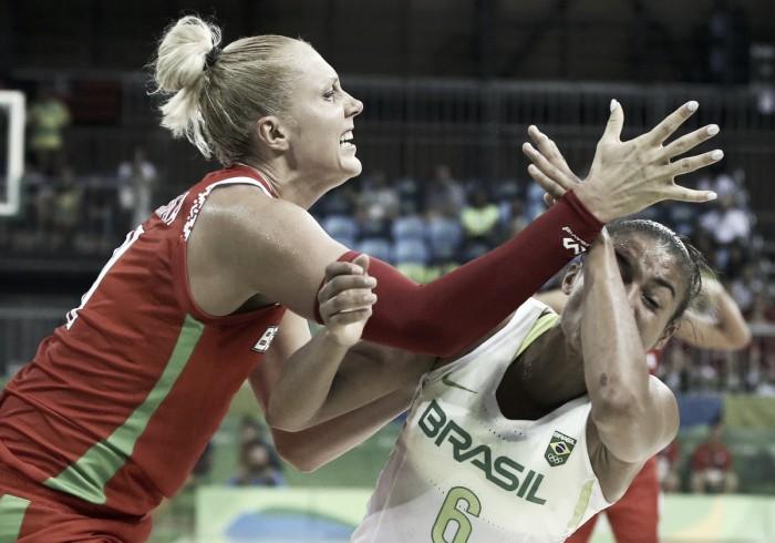 Brasil perde novamente e se complica no basquete feminino