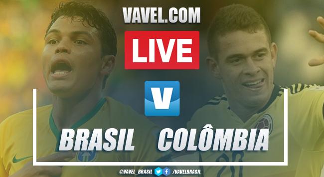 Gols e melhores momentos de Brasil 2x2 Colômbia em amistoso