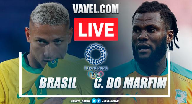 Melhores momentos Brasil x Costa do Marfim pelas Olimpíadas de Tóquio (0-0)