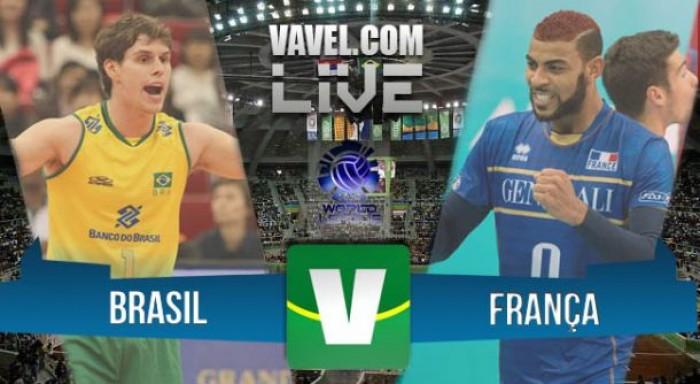 Resultado Brasil x França na Liga Mundial de Vôlei 2016 (3-1)