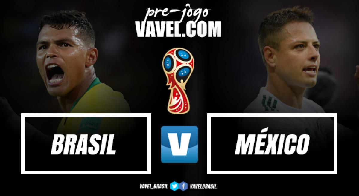 Sem Marcelo, Brasil encara México tentando mudar história dos campeões mundias na Copa
