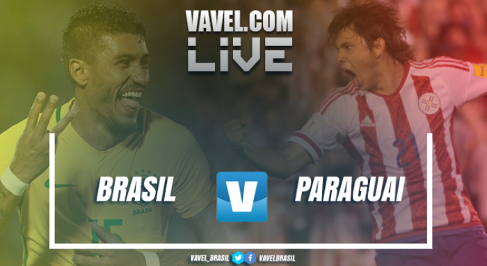 Jogo Brasil x Paraguai ao vivo hoje nas Eliminatórias da Copa do Mundo 2018 (0-0)