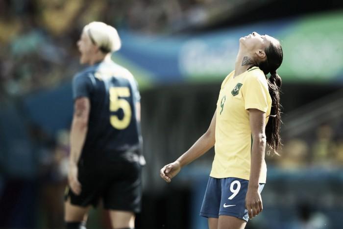Brasil não fura defesa da Suécia, perde nos pênaltis e dá adeus ao sonho do ouro olímpico