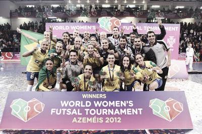 III Mundial de fútbol sala femenino: Brasil, tricampeona del mundo