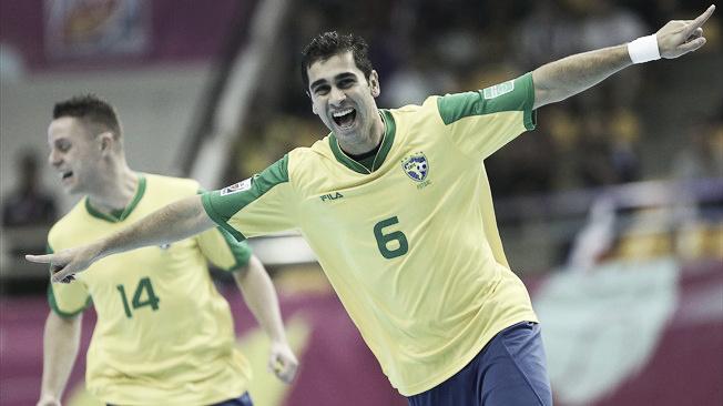 Brasil arrolla a Libia y consigue el pase a los octavos de final