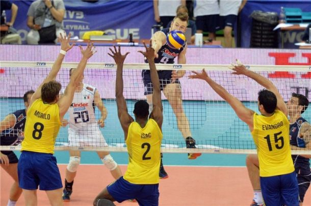 Volley, World League: riscatto azzurro, Brasile al tappeto