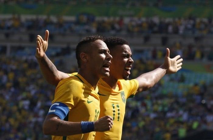 Calcio Rio 2016, il Brasile travolge l'Honduras e va in finale