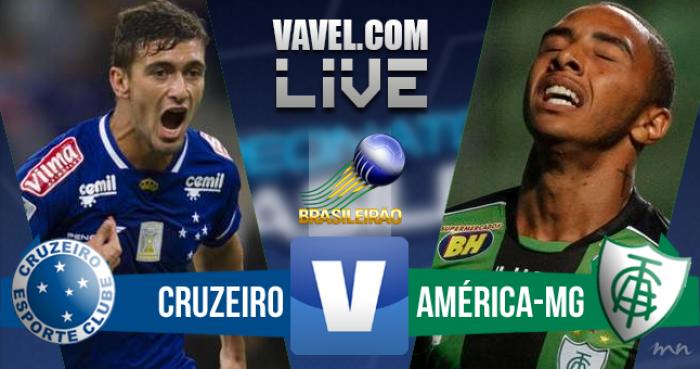 Resultado Cruzeiro x América-MG Campeonato Brasileiro (1-1)