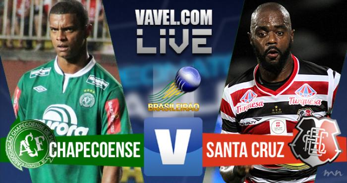 Resultado Chapecoense x Santa Cruz no Campeonato Brasileiro (1-1)