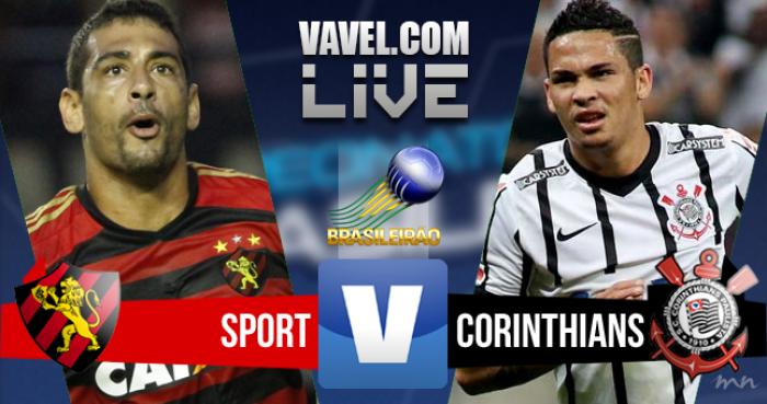 Sport x Corinthians  hoje (0-2)