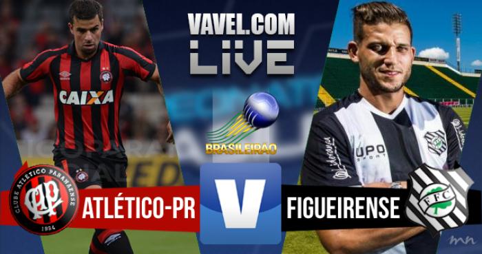 Resultado Atlético-PR x Figueirense hoje no Brasileirão (0-0)