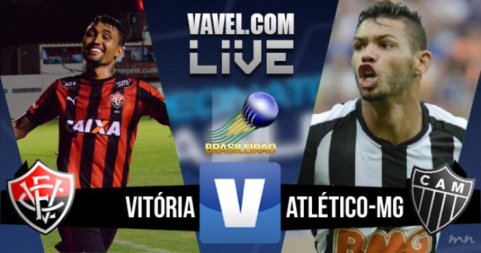 Resultado Vitória x Atlético-MG no Brasileirão (1-1)