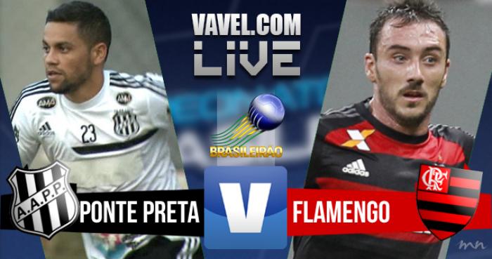Resultado Flamengo x Ponte Preta (2-1)