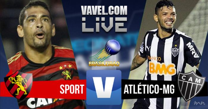 Resultado Sport x Atlético-MG no Brasileirão (4-4)